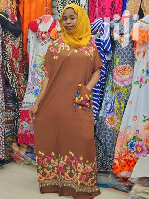 New Embroided Cotton Deras