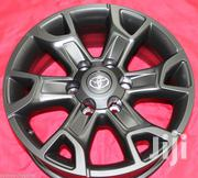 Toyota Hilux Alloy Rims Size 16 Inch Brand New in Matt Black Ksh 43K | Vehicle Parts & Accessories for sale in Nairobi, Nairobi West