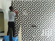 Professional Wallpaper Installation With a Perfect Finishing | Building & Trades Services for sale in Mombasa, Tudor