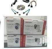 Four 4 Hikvision Complete Cctv System Package Sale With Installation | Security & Surveillance for sale in Nairobi, Nairobi Central