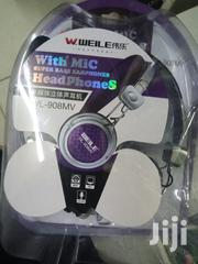 Headphones With Mic Available | Headphones for sale in Nairobi, Nairobi Central