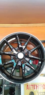 Black Sport Rims Size 14set | Vehicle Parts & Accessories for sale in Nairobi, Nairobi Central