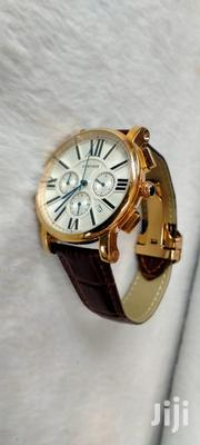 Brown Cartier Chrono Gents Watch | Watches for sale in Nairobi, Nairobi Central