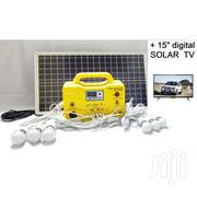 "Drom Power Solar Power KIT PLUS 15"" Digital DC TV 