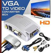 VGA To TV AV Composite Rca S-video Converter Box Adaptor | Accessories & Supplies for Electronics for sale in Nairobi, Nairobi Central