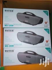 Wster Ws- 1038 Bluetooth Speaker Comes With FREE 8GB Flashdisk | Audio & Music Equipment for sale in Nairobi, Umoja II