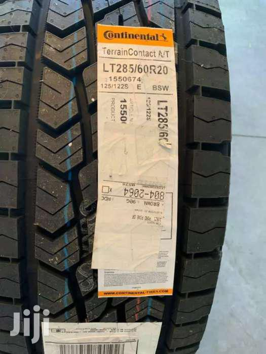 285/60/20 Continental Tyre's Is Made In