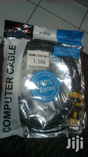 DVI To HDMI Cable 1.5m | Accessories & Supplies for Electronics for sale in Nairobi, Nairobi Central