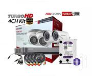 4 1080P 2MP Hikvision Turbo HD Complete System Kit Package | Photo & Video Cameras for sale in Nairobi, Nairobi Central