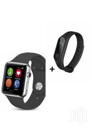 B702 Smart Watch Phone With Free M2 Smart Bracelet | Smart Watches & Trackers for sale in Nairobi, Nairobi Central