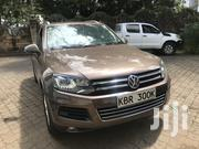 Volkswagen Touareg VR6 Executive 2012 Brown | Cars for sale in Nairobi, Kilimani