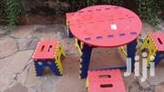 Colourful Kids 4 Chairs And Table Set | Children's Furniture for sale in Nairobi, Zimmerman