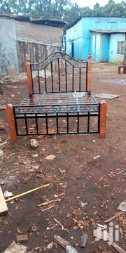 Bed Made Of Metal N Wood | Furniture for sale in Nairobi, Ngando