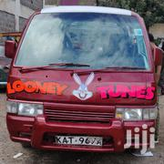 Nissan Caravan 1999 Red | Buses & Microbuses for sale in Nairobi, Nairobi South