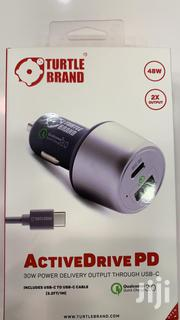 Car Charger Turtle Brand 48W Active Drive PD 30W Power Delivery | Accessories for Mobile Phones & Tablets for sale in Mombasa, Mji Wa Kale/Makadara
