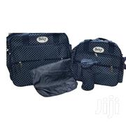 Blue With White Polka Dots 4 In 1 Diaper Bag | Baby & Child Care for sale in Nairobi, Westlands
