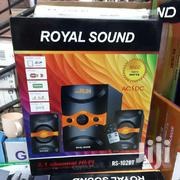 Royal Sound RS102 BT 2.1CH Speaker System - Black & Red | Audio & Music Equipment for sale in Nairobi, Nairobi Central