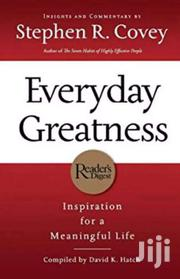 Everyday Greatness- Stephen R Covey | Books & Games for sale in Nairobi, Nairobi Central