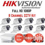 8 Hikvision CCTV Cameras Security Surveillance Complete System | Security & Surveillance for sale in Nairobi, Nairobi Central