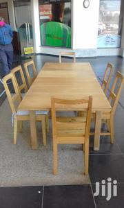 IKEA Extendable Table With Eight Chairs | Furniture for sale in Mombasa, Bamburi