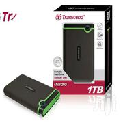 2TB TRANSCEND External Portable Hard Drive Black | Computer Accessories  for sale in Nairobi, Nairobi Central