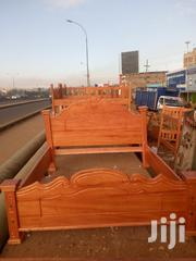 New High Quality Mahogany Bed 5*6   Furniture for sale in Nairobi, Githurai