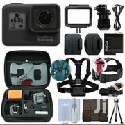 Gopro HERO7 Black 12 MP Waterproof 4K Bundle | Photo & Video Cameras for sale in Nairobi, Karen