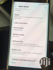 Samsung Galaxy S6 edge 32 GB Gold | Mobile Phones for sale in Kericho, Ainamoi