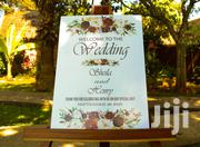 Wedding Welcome Board | Party, Catering & Event Services for sale in Nairobi, Zimmerman