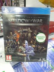 Ps4 Shadow of War Silver Edition | Video Games for sale in Nairobi, Nairobi Central